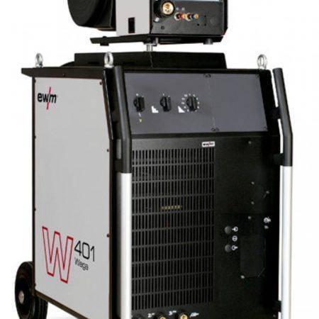 Аппарат для сварки MIG/MAG со ступенчатым переключением EWM Wega 401