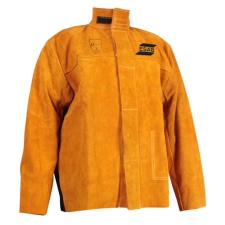 ESAB Welding Jacket Кожаная куртка сварщика со вставкой из огнестойкого материала на спине